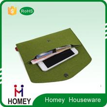 Colorful felt Pencil case Phone Case Clutch bag for girls