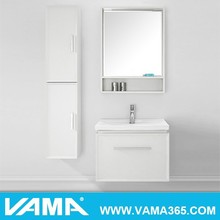 vama estilo americano de maquillaje sala de baño de madera de roble muebles de roble