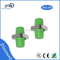 simplex D type FC/APC fiber optic Network adapter square FC/APC fiber optical adapter