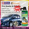 450ml Tire Repair Spray, Tubeless Tire Sealer and Inflator