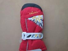 Kids Mittens Printing Honeycomb Ski Gloves Snowboard Glove Winter Gloves