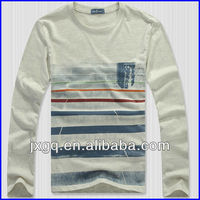 TAU-1659 Men's long sleeve mens stripe polo shirts men formal striped long sleeve shirts