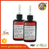 clear UV cured acrylic glue for glass to metal Loctit quality