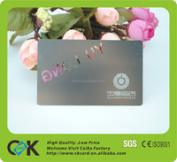 Professional design embossed metal business cards