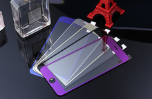 electroplating mirror tempered glass screen protector film for iPhone 6
