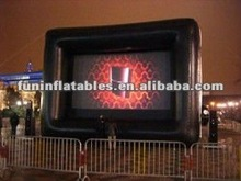 Outdoor Inflatable Movie Screen Gian Screen For Event