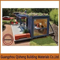 Modren type Light Steel 40ft high cube folding container office for sale