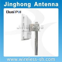 panel antenna suitable for ubnt Bullet JHP-2458-20V11DB/WIFI Panel antenna 20dBi / panel antenna 2.4GHZ/5GHZ