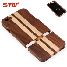 hot sale wood cell phone case phone,5.5 inch mobile phone case, wood phone case for iphone