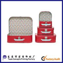 Children Paper Mini Suitcase Box