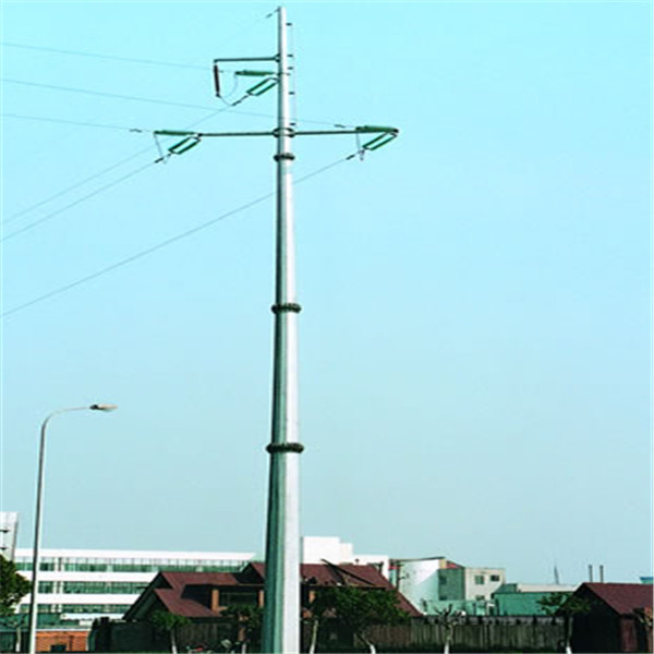 Manufacture Lighting Tower For Hot Dip Galvanized Steel