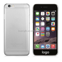 """Top Quality Full Transparent Hard PC Back Case Cover For iphone 6 4.7"""" 5.5"""""""