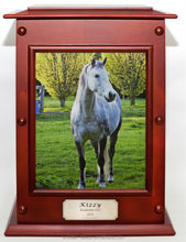 Wooden urn in memory of your lovely pet