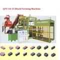 Qt10-15b prensa hidráulica bloque que hace la máquina, bloque de bloqueo de la máquina de pavimentación
