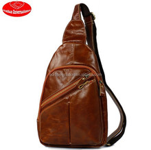 real leather chest bag for men /real leather summer bag for men
