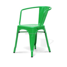 Steel Marais Dining Arm Chair/Aluminum Cafe Side chair/Classice Replica cafe dining chair