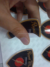 Motorcycle trademark epoxy Dome Resin Sticker---Any size & shape with 3M glue