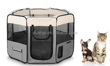 Pet Kennel Dog Cat Fence Tent Puppy Soft Playpen Exercise Pen Folding Crate