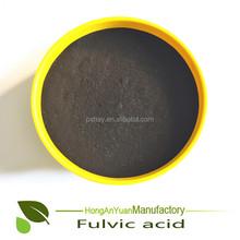 Soluble Fulvic Acid Usd As Foliar Spray Fertilizer For Agriculture