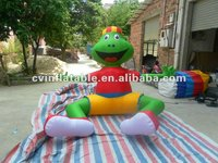 big animal inflatable frog advertising promotion toy
