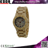 2015 Bewell New Product Buckle Design Eco-friendly Natural Maple Wood Bamboo Watch