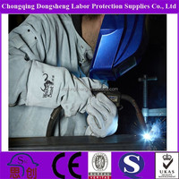 Free sample tig welding gloves with split back palm and cuff