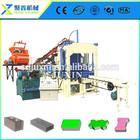 Equipamento de construção qt4-15c conrete máquina pavimentadora bloco