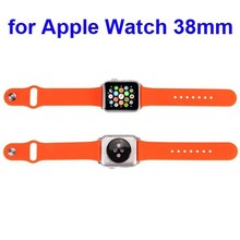 Adapter include watch band strap silicone for Apple Watch band 38mm