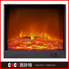 artificial wood electric fireplace decorate hearth material