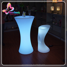 bar and pub furniture,bar high table and chair,led decorative light bar table color changing led furniture bar