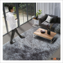 Hand Made Polyester Shaggy Carpets For Home Decor