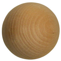 50mm natural large decorative wooden balls