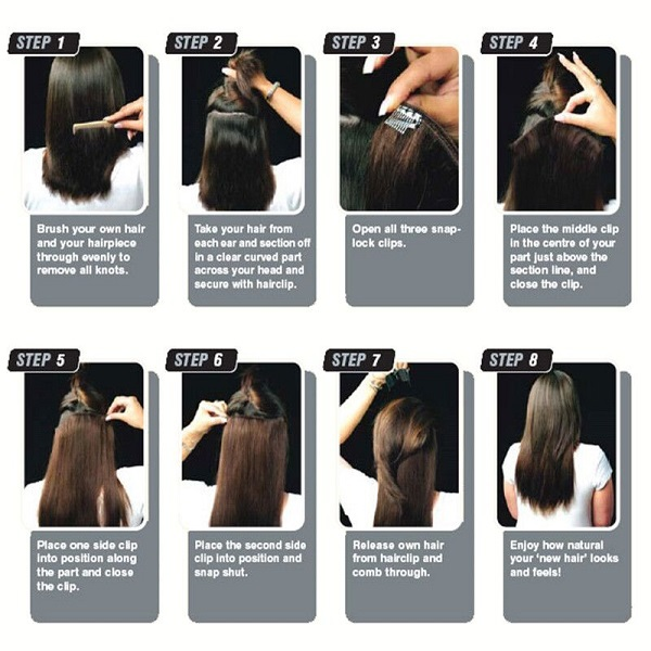 Best Prices Mink 32 Inch Hair Extensions Bohemian Remy Clip In Human