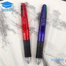 Factory promotional multi-function color ballpoint pen
