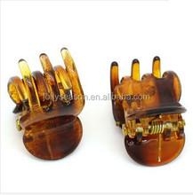 Fancy hair accessories claw clips hair clip Hair Pin Plastic Brown