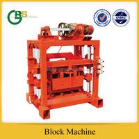 QTJ4-40B2 cement block & brick making machine