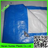high quality pe tarpaulin /blue white pe tarpaulin /plastic tarpaulin for truck cover (china factory )