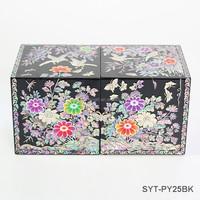 Luxury fancy handmade jewelry box mother of pearl