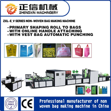 Eco Friendly Non-woven Grocery Tote Bag Making Machine