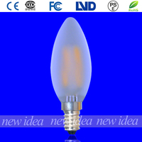 vintage decorative bulb, led candle frosted bulb C35 2W wholesale