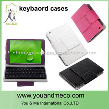 Rose Leather Case w/Removable Wireless Bluetooth Keyboard For Apple iPad Mini