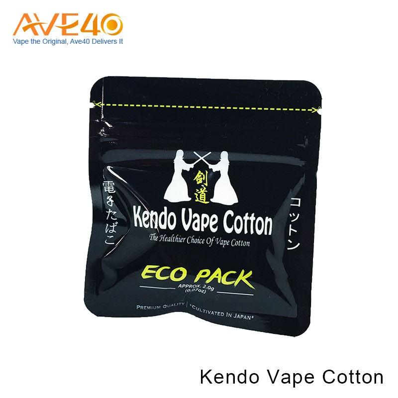 how to use kendo vape cotton