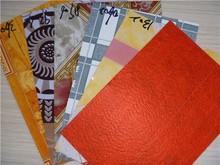 shandong qiankun 80g/sq vinyl linoleum flooring with red leather back
