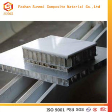 insulated aluminum honeycomb sandwich panel for curtain