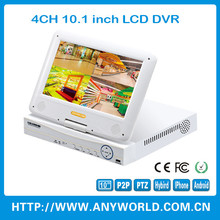 china dvr manufacturer 720p h.264 4ch network dvr 4ch optional