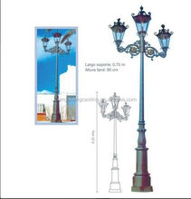 New products for 2015 aluminum antique street light pole