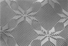 Square shaped lovely flowers polyester mosquito net mesh fabric ornaments your life everywhere