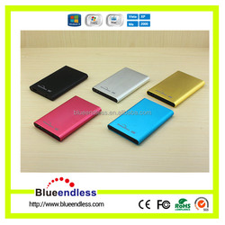 Custom aluminum 2.5'' HDD Enclosure with usb 2.0 to SATA