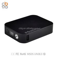 Large capacity Fast charging mobile power pack 10400mAh