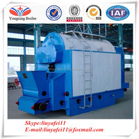 Heat transfer machine waste solid fuel boiler steam generator boiler price